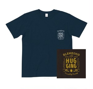 DJ FUNNEL 「Blending For Hugging」CD + Pocket T-shirts(Navy)