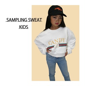 KIDS SAMPLING SWEAT ※大人も着用可