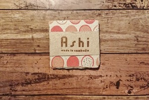 Ashi|亜紙 Coaster*Dragon Fruit コースター