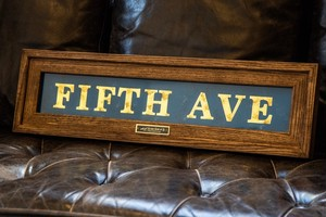 NYC Subway Sign – FIFTH AVE –