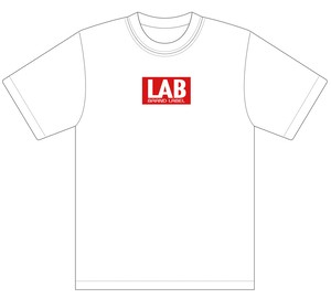LAB BOXロゴTシャツ ホワイト L