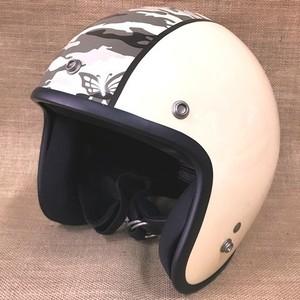 ダムトラックス ヘルメット ダムフラッパー FLORA フローラ アイボリー S