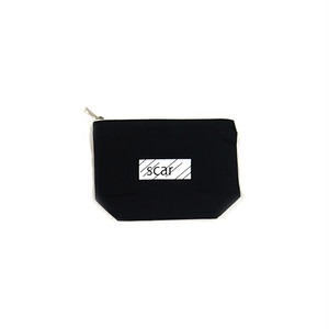 scar /////// BLACKBOX DAILY POUCH (Small) (Black)