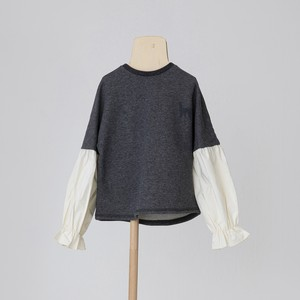 folk made  switch pullover M/L top gray  F21AW-008 ※メール便1点までOK