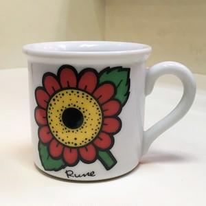 内藤ルネ 小さなカップ【フラワー】(0613202S60)