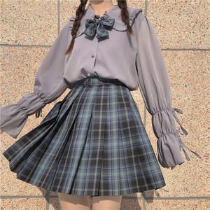 3色/2連リボン袖ブラウス ・14284
