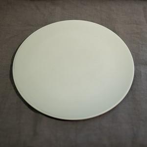 Stone プレート リッチグレー/リッチホワイト 28cm