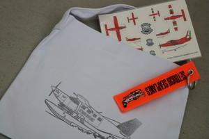 コットンバッグ+シール+フライトタグセット