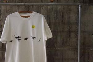 Animal pattern tee(B)