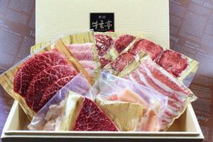 【BBQに最適!】ちょっと贅沢な焼肉セット 8種800ℊ 焼肉のタレ付き 焼肉、BBQなどに最適!!3~4人前