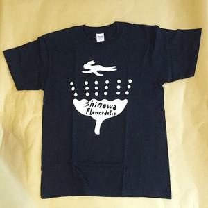 """shinowa """"Flowerdelic"""" T-shirt (DarkNavy / S,M,L)"""