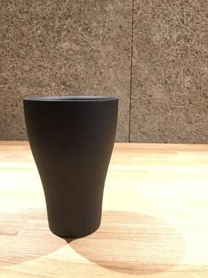 信楽焼 ビアカップ(とび茶)