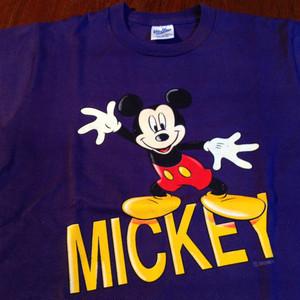 Micky Tee shirt Purple