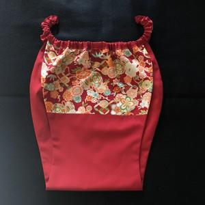 【受注生産】はごろもショーツ蓮 HS0015-S2102R 男女兼用 [Made-to-order] Comfortable underwear Hagoromo shorts Ren -Lotus- Unisex Red