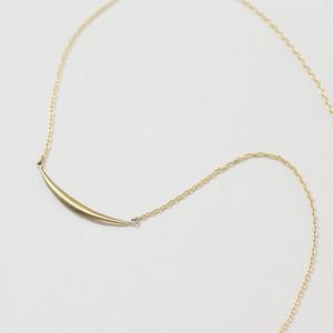 リーフ K10イエローゴールド  ネックレス スモール