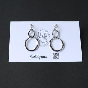 Oblong Pierce/Earring(金属アレルギー対応)