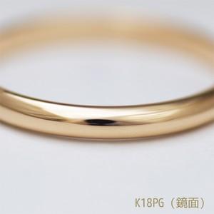鍛造で作る マリッジリング~結婚指輪~ K18ピンクゴールド(K18PG)