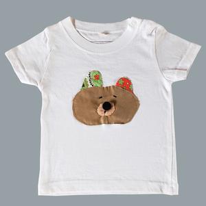 おとぼけくまのTシャツ(kids 70)