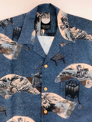 ◆半額:訳あり商品◆ サムライアロハ Wool-M_283