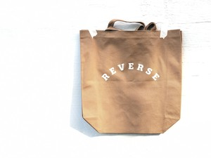 REVERSE ORIGINAL - TOTE BAG (BROWN)