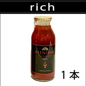 【rich  リッチ】 180ml 1本  プレンティーナミニトマトジュース