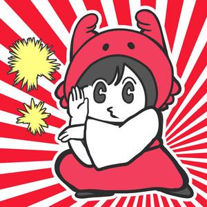 【カニ巫女】カニ巫女ダブルシール