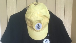 M.A.N.VS.M.A.N - Washed BB hat(Jaune)