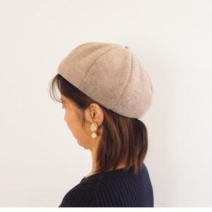 メルトンフリースのベレー帽