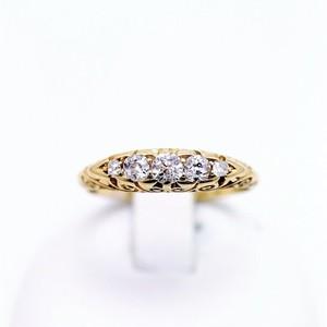 Diamond & Gold Ring circa1903  ダイヤモンド&ゴールド リング