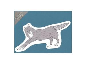 PLANTER グリーティングカード <wolf>