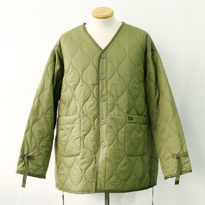 【RVCA】LINNING QUILTING JACKET (ARMY)