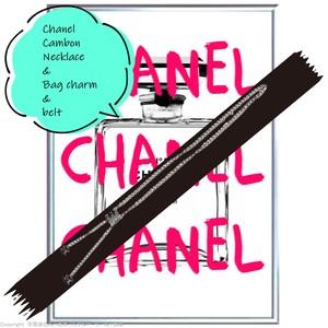 シャネル:カンボンラインチェーンベルト/ネックレス/バッグチャーム/Chanel/cambon /chainbelt/necklace/bagcharm