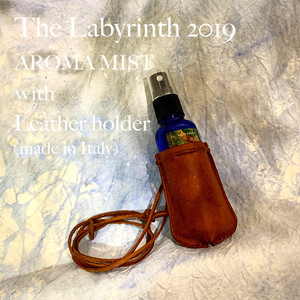 * The Labyrinth 2019 Aroma Mist with Leather holder(made in Italy) コットンポーチ付き