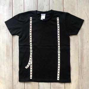 レディースサスペンダーTシャツ(Black)