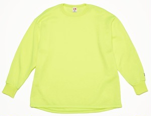 FAT L/S SWT - NEON YELLOW