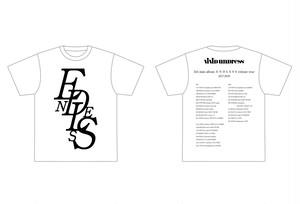 ENDLESS Tシャツ 白(L)