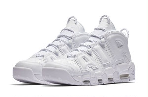 "Nike Air More Uptempo ""triple white"" メンズ"