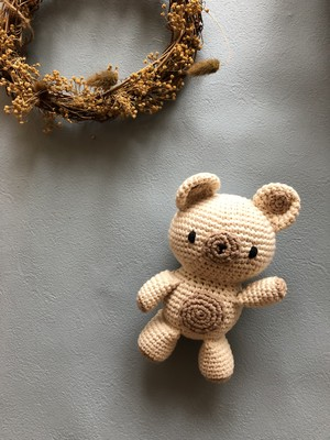 TEDDY BEAR  HUGGIE(baby toly)