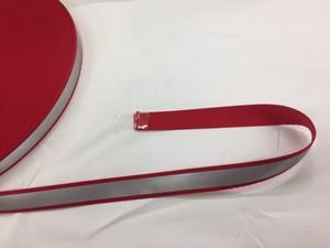 反射テープ ポリエステルテープ 反射ライン 15mm幅 黒/カラー 1巻(50m)