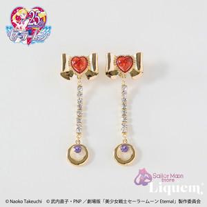 Sailor Moon store x Liquem / スーパーセーラーマーズリボン・ピアス