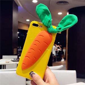 ORIGINAL ニンジン iphoneXケース 可愛い  男女兼用 ブランド iPhone6携帯カバー オシャレ アイフォン7プラス カバー