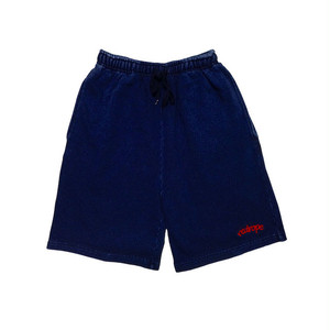 【VINTAGE SWEAT SHORTS】 V.indigo / red