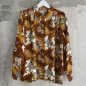 (PAL) flower paisley l/s shirt
