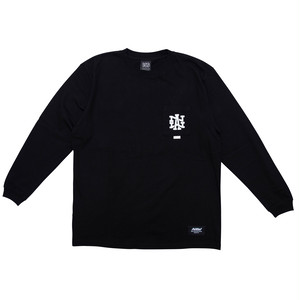 100A NAW HEAVYWEIGHT L/S TOP WITH POCKET