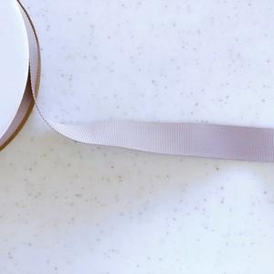 グログラン 25mm (グレー無地)
