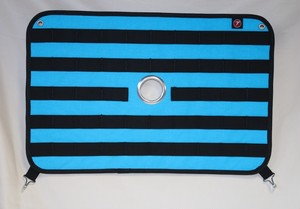 S301B用穴あり ラビットスクーター  HARAMAKI (ハラマキ)  【Aqua Blue】
