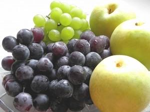 ぶどう(2種類)と20世紀梨のセット