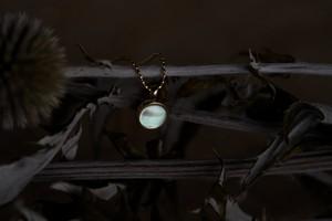 きき 夜光貝ネックレス K18    【かいのわ】