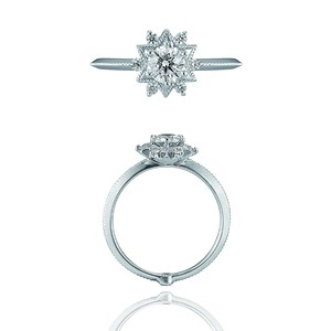 Wish Upon a Star Ring / Pt900 3EX H&C Diamond