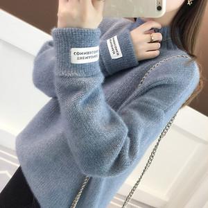 【トップス】ファッションハイネックプルオーバーニットセーター22818870